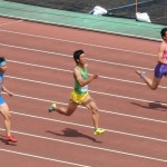100m予選 金子