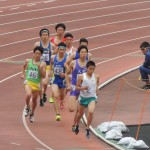 800m決勝 三上