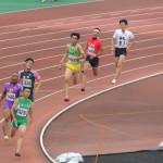 4×400mR準決勝 2走山田