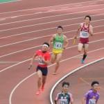 4×400mR準決勝 3走池田