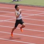 100m 神谷(134)