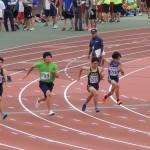 100m 石田(150) 金子和生(139)