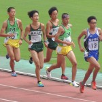 B3000m決勝 小林(右) 小室(左)