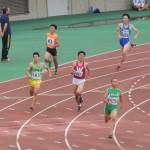 400m予選 池田