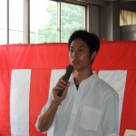県大会4冠を達成した北川翔(3年)