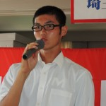 400mHで入賞した越榮宏(3年)