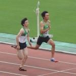 B100m予選 山田