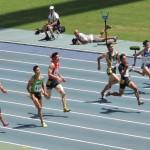 100m予選 北川