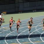 200m準決勝 北川