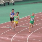 200m予選 権田