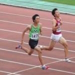 B100m決勝 山田翔冴