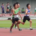 100mオープン 福井啓太