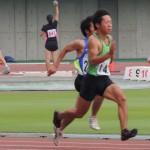 100mオープン 石井健人