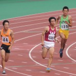 400m予選 粕谷周平
