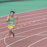 4×400mR決勝 1走 山田翔冴