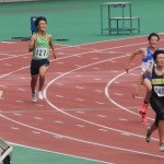 400m予選 田中伊吹