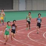 400m予選 三角陽輝