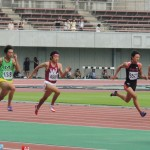 100m準決勝 若林諒