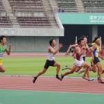 100m準決勝 飯田裕貴