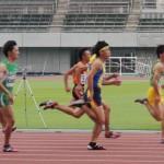 100m準決勝 板橋辰樹