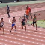 100m決勝 山田