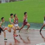 100m 野口(右) 竹花(左)