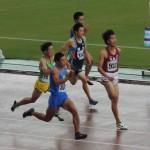 100m準決勝 竹花