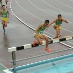 3000mSC決勝 小室(右) 田仲(中) 六田(左)