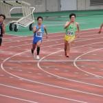200m準決勝 野口