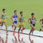 5000m決勝 戸村(右) 荻原(中) 小林(左)