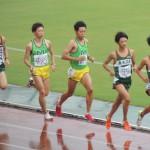 5000mオープン 野口(右) 戸塚(左)