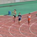 400m予選 山田