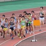 1500m予選 松田