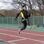 踏切り練習 北川
