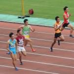 100m予選 野口