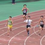 4×400mR予選 1走神田