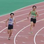 400m予選 山田翔冴