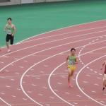 400mオープン 金井(右) 山田健太(左)