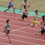 100m予選 石田
