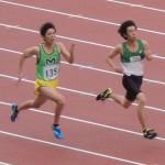 100mオープン 阿佐美