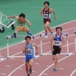 400mH予選 吉野