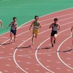 200m予選 山田