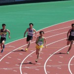 200m予選 竹花