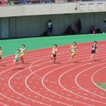 200m決勝 山田(右) 竹花(中) 野口(左)