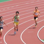 400m予選 吉野