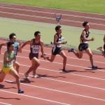 100m 吉野(左) 山田健太(右)