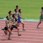 100mオープン 石田