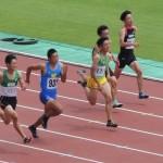 A100m準決勝 竹花