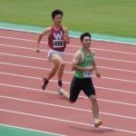 400mオープン 山田