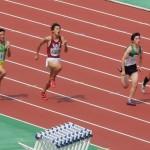 A100m決勝 竹花